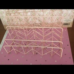 NWNT Light Pink Desk Letter Organizer!!
